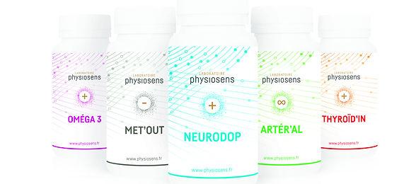 Physiosens, 1ere gamme de compléments nutritionnles dynamisées et informées