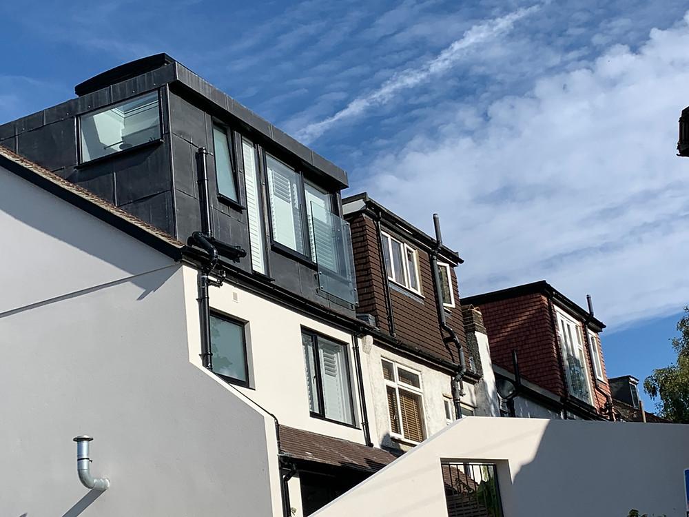 Three loft conversions in a terrace