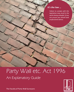 Party Wall Guide from FPWS
