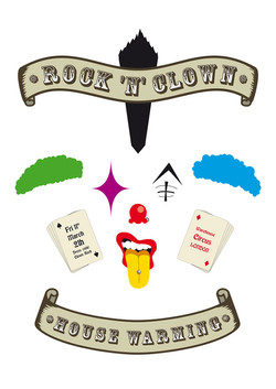 Rock_'n'_Clown_Event_Poster_Léo_Bodelle