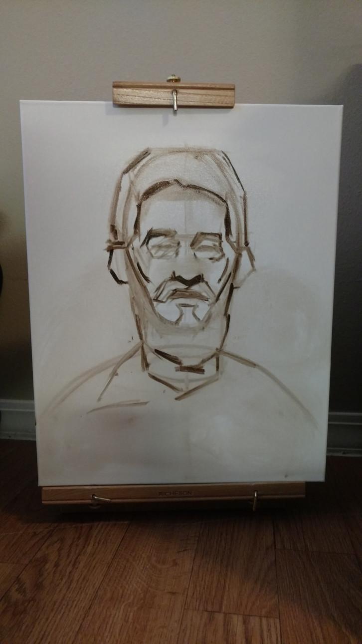 Portrait of Teddy