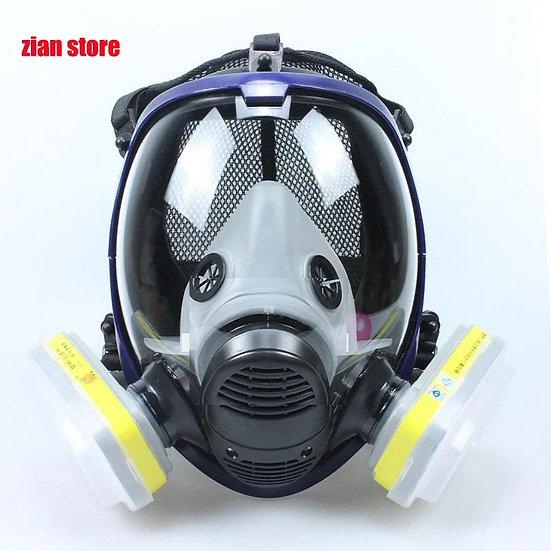 Full-ansikts Karocola gass-maske
