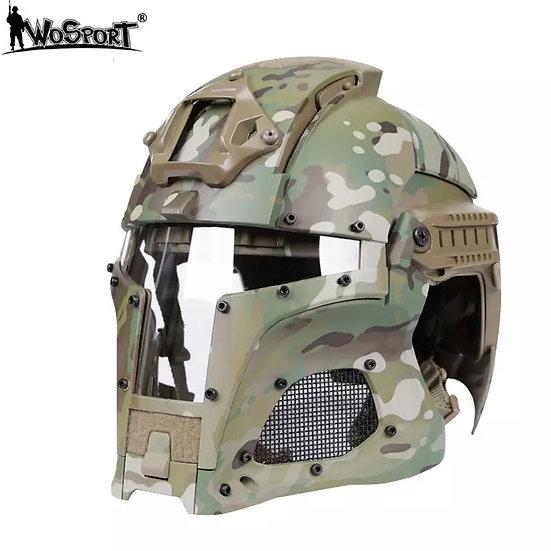 WoSport taktisk ABS-hjelm