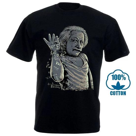 Albert Einstein -salt meme t-skjorte
