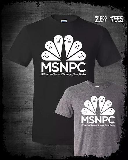 MSNPC - t-skjorte