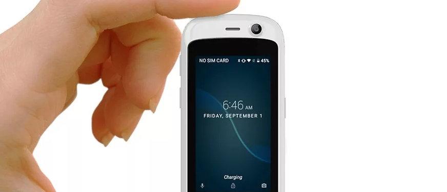 Unihertz Jelly Pro - verdens minste smarttelefon