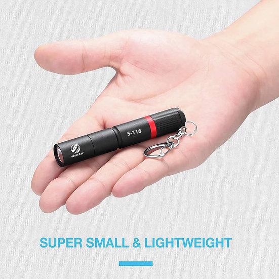 Shustar S-116 - Mini-lykt og lommelykt