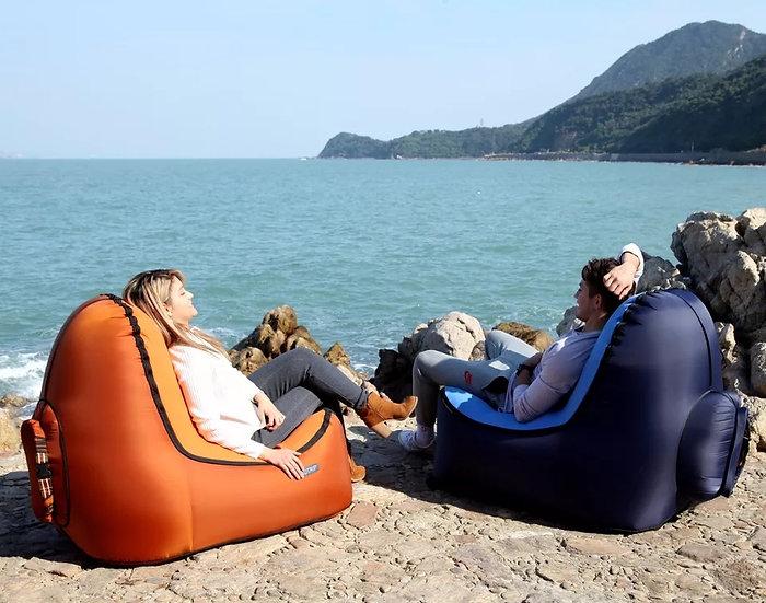 Oppblåsbar sofa