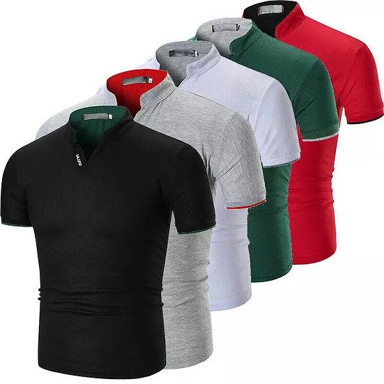 Slim business-shirt -T-skjorte