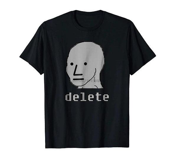 NPC delete - t-skjorte