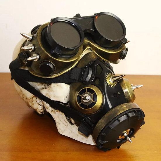 Gear Duke respirator med flipp-briller