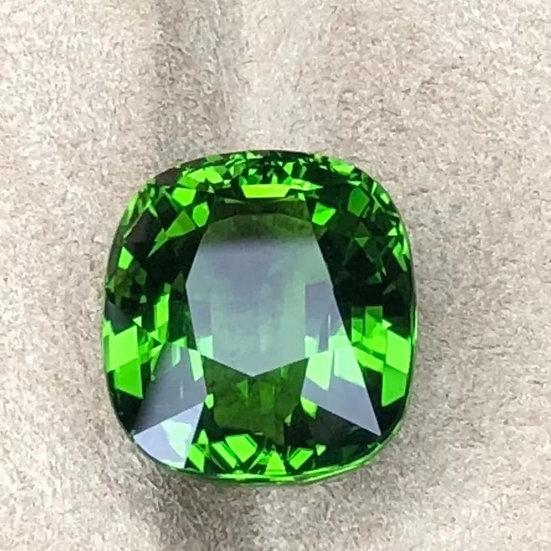 Grønn turmalin-stein 17,98ct
