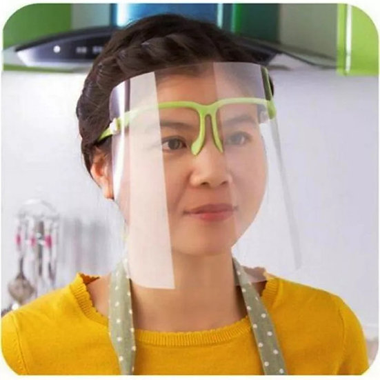Vernebriller med skjerm