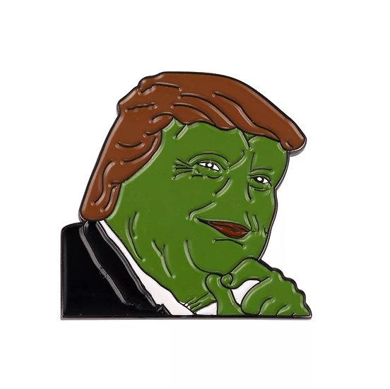 Pepe-Trump meme-pin
