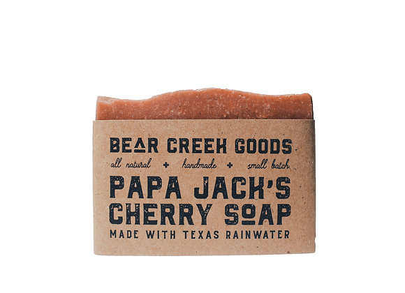Papa Jack's Cherry Soap