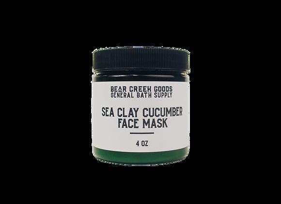 Sea Clay & Cucumber Face Mask