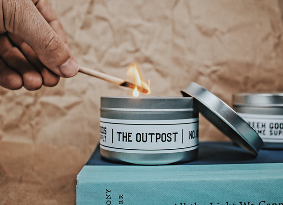 Outpost Candle 8 oz Tin