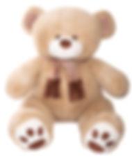 Медведь Макс, 130 см. Кофейный.jpg