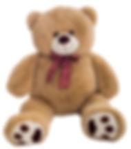 Медведь Рич кофейный
