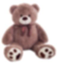 Медведь Рич фиолетовый