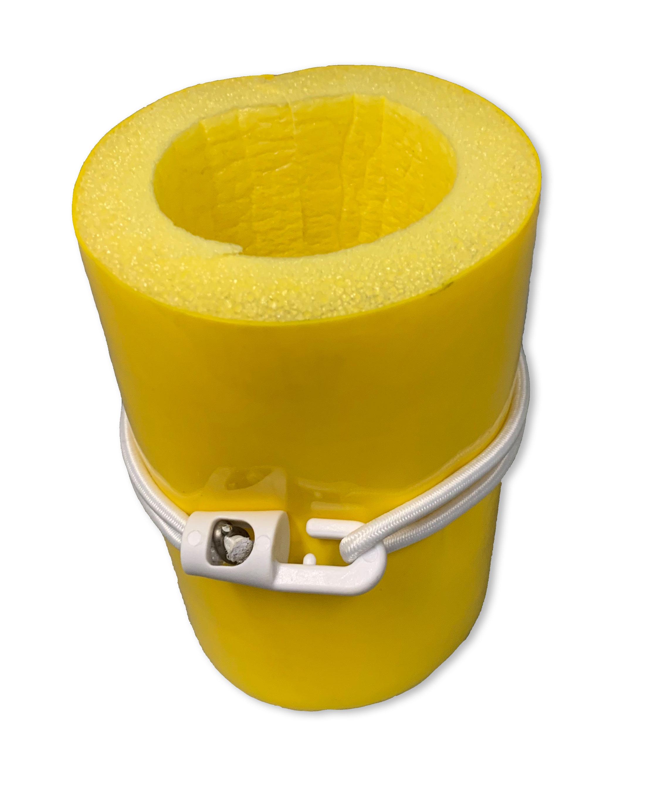 Split-pole-padding