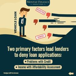Montay Finance declined loan reasons