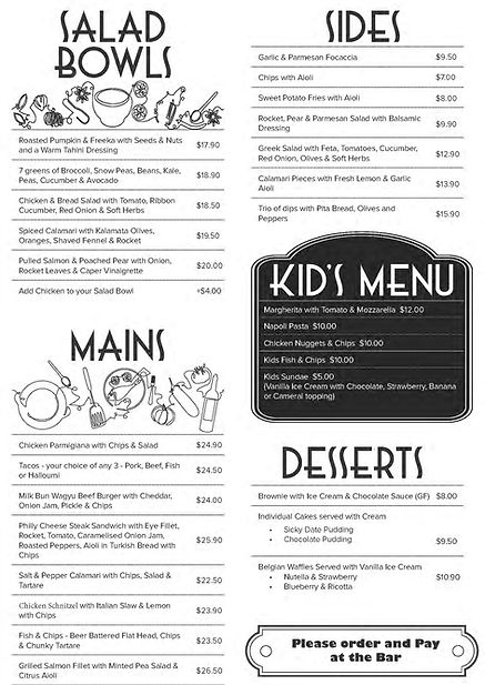 AA_JJz Lunch and Dinner menu - March 202