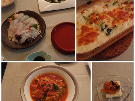 久しぶりに料理しました。