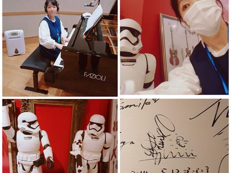 ピアノを弾いて来ましたー。