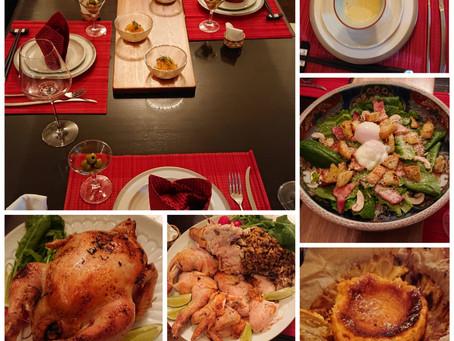 今年のクリスマスディナー。