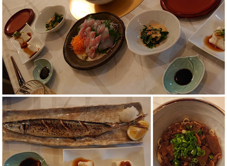 初秋刀魚。