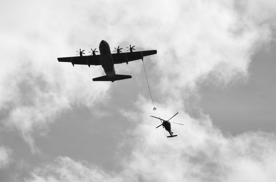 MC-130 and HH-60