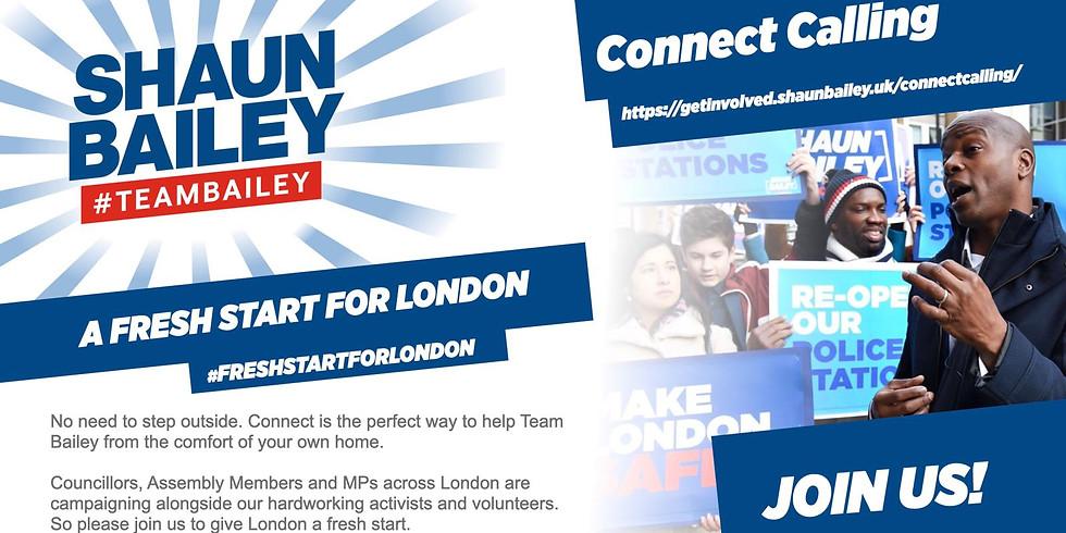 Mega Telephone Canvassing London! Shaun Bailey and Ahmereen Reza