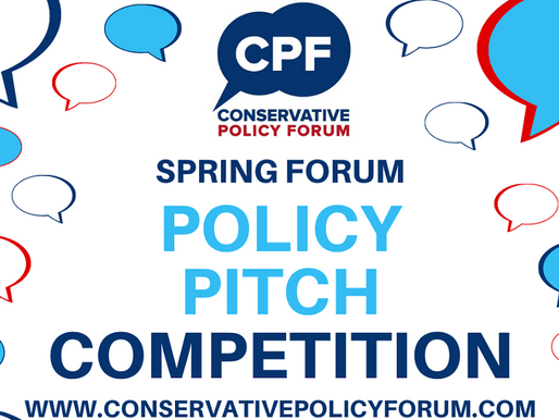 Policy Pitch Competition at Spring Forum