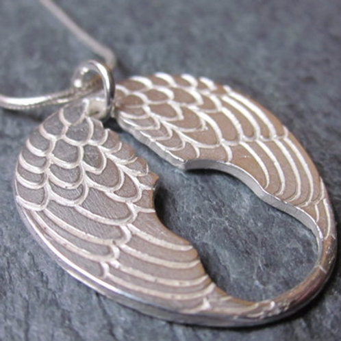 'Wings' Sterling Silver Necklace
