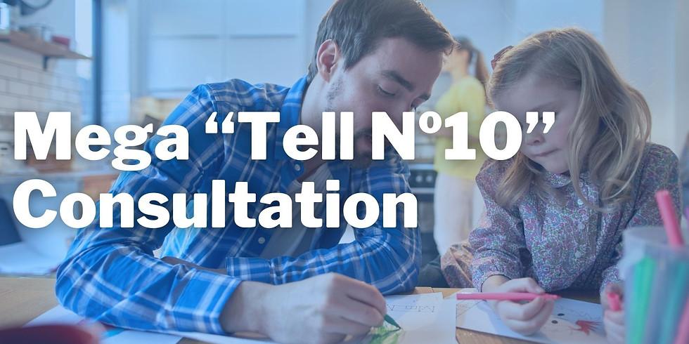 "Mega ""Tell №10"" Consultation"