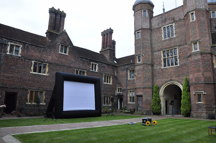 Venture cinema outdoor cinema george abbot hospice