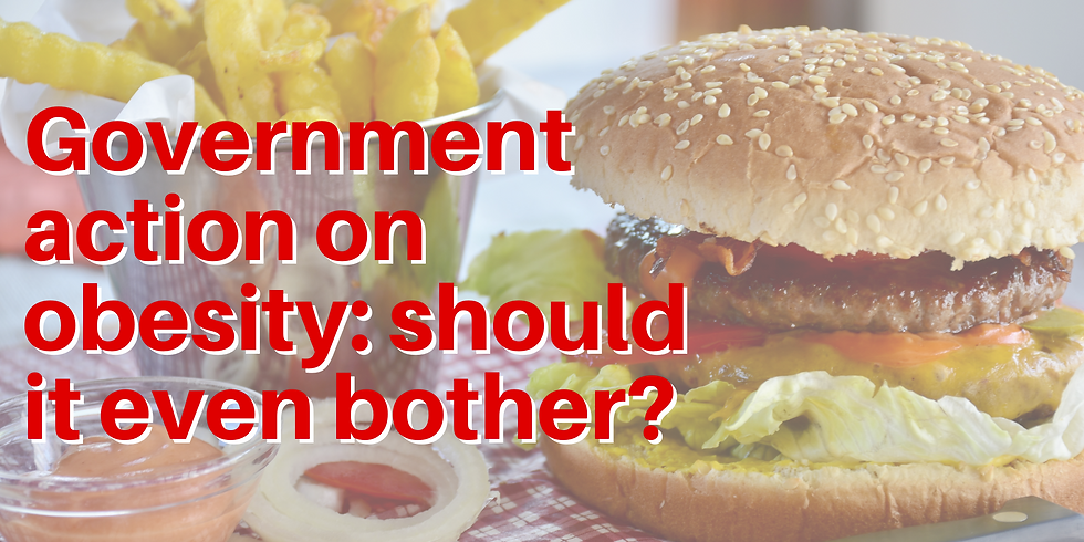Government action on obesity: should it even bother?