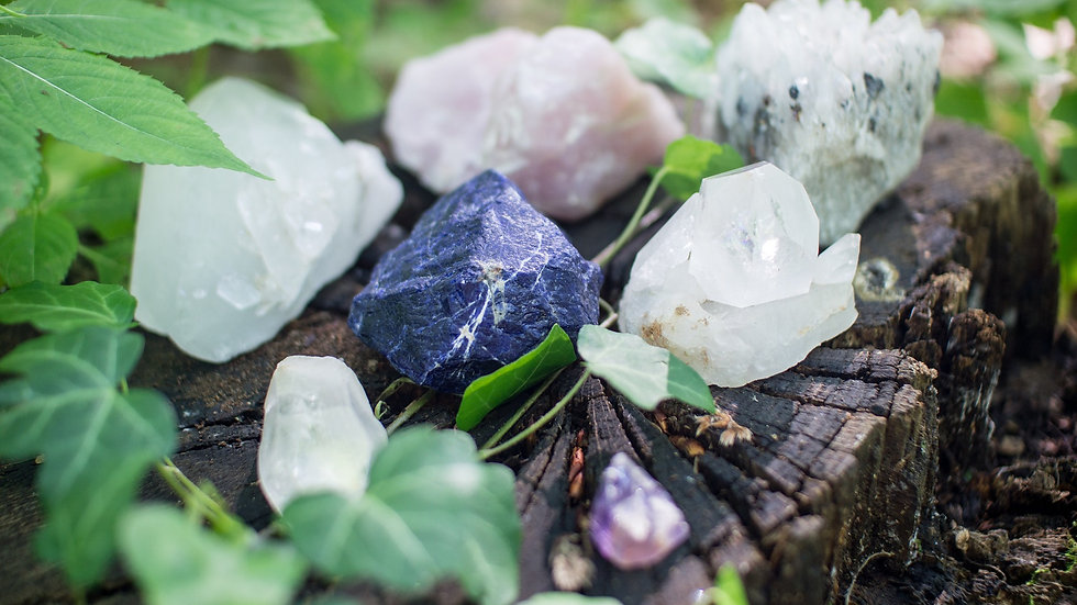 Releasing Anxiety crystal package