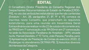 EDITAL DE CONVOCAÇÃO AGE
