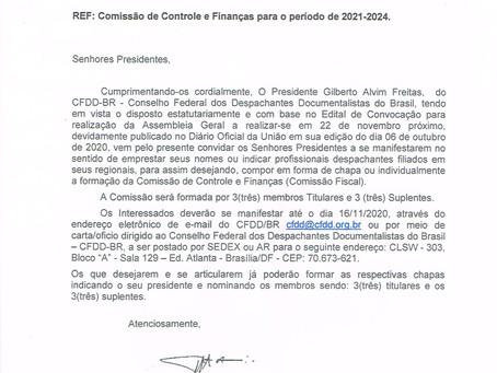 OFÍCIO CFDD-BR