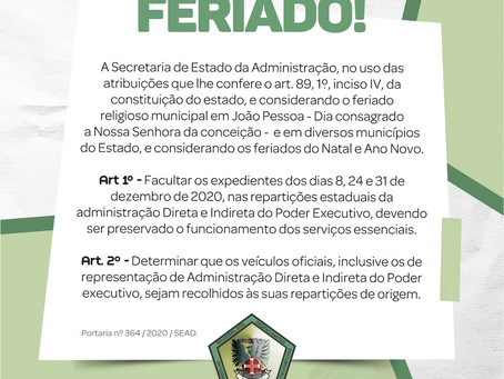 ATENÇÃO DESPACHANTES PARA O EXPEDIENTE DO CRDD/PB
