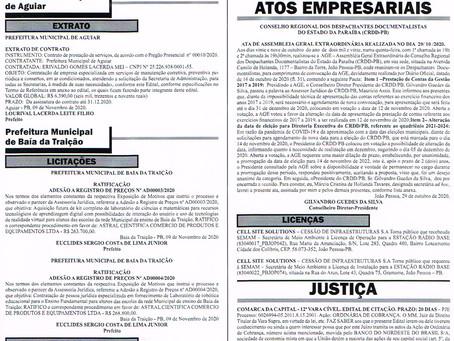 PUBLICAÇÃO DA ATA DA AGE CRDD/PB