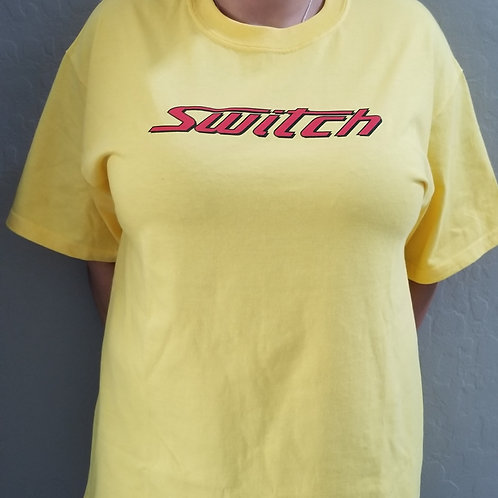 THE SWITCH TEE - Yellow #1