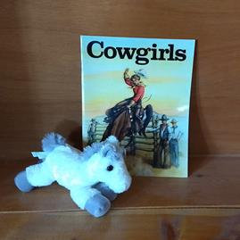 Cowgirls Coloring Book Gift Package