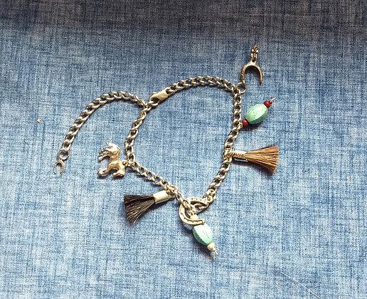 Cowboy Collectibles Charm Bracelet