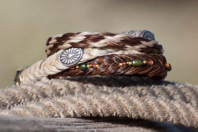 Horse Hair Bracelet - 3 Bracelets
