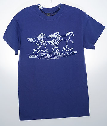 Free To Run Unisex Short Sleeve T-Shirt (Small Only)