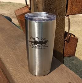 Free To Run Travel Mug