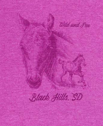 Wild & Free Womens T-Shirt